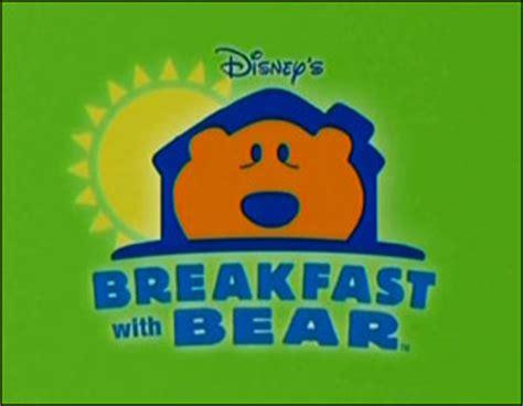 bear inthe big blue house disney junior breakfast with bear muppet wiki