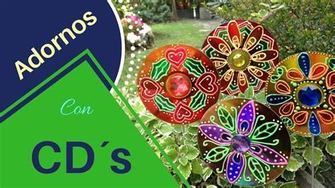 como hacer adornos de cds navide241os como hacer adornos de jardin reciclando cd 180 s