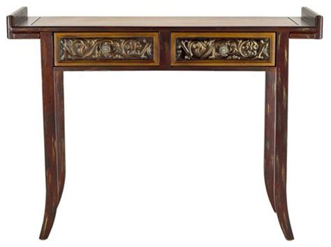 asian accent table safavieh furniture kasey console table asian side
