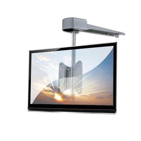 under cabinet tv mount kitchen under kitchen cabinet lcd led tv wall bracket mount for up to 5kg 15 quot screens silver from