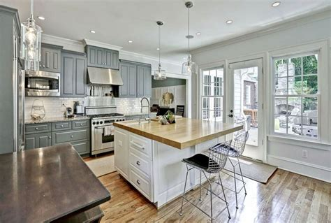 gray  white kitchen ideas designing idea