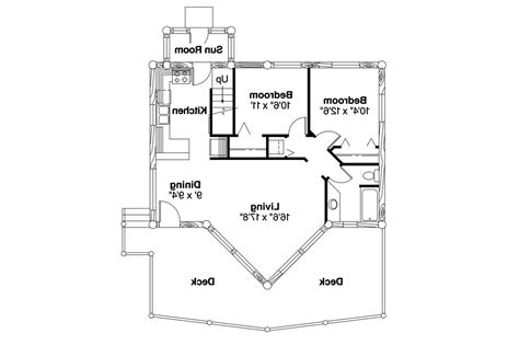 A Frame Cabin Floor Plans by Sylvan 30 023 A Frame House Plans Cabin Vacation