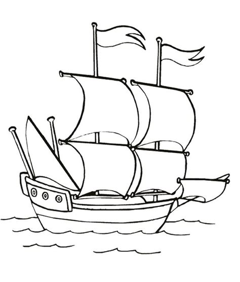 Mayflower Ship Coloring Page mayflower ship coloring page az coloring pages