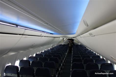 American Airlines Plane Interior by Delivery Flight American Airlines Welcomes Boeing