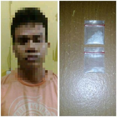 Kotak Rokok Polisi goriau pagi pagi pengangguran di pekanbaru ini diuber polisi karena buang kotak rokok di