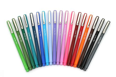 Color Marker Pen marvy le pen marker pen point 18 color bundle