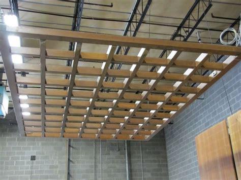 Wood Grid Ceiling by Wood Grid Ceiling Grids