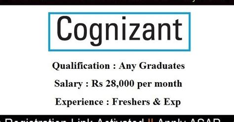 In Infosys For Mba Freshers by Direct Interviews Cognizant July 2016 Salary Rs