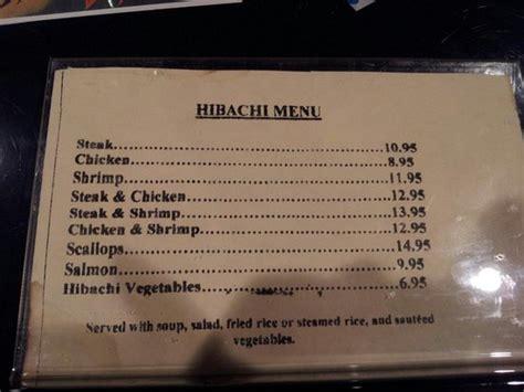 akashi japanese restaurant greensboro menu prices restaurant reviews tripadvisor