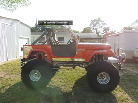 monster jeep cj gorgeous 1984 jeep cj7 custom build monster truck