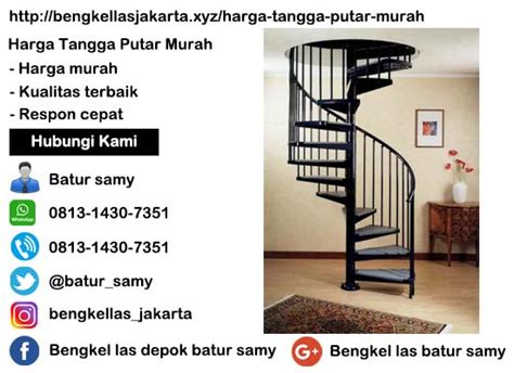 Harga Tangga Putar Murah   Batur Samy   0813 1430 7351