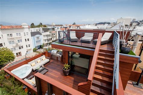 house plans with roof deck terrace is this the most amenities ever on one sf roof deck