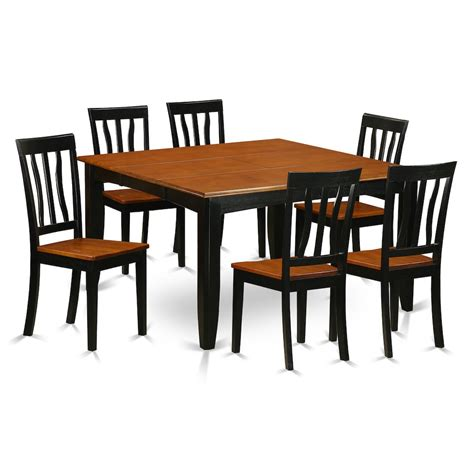 7 pc dining room set 7 pc dining room set dining table and 6 wooden dining chairs