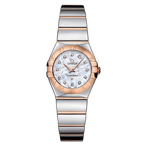 Omega Constellation Quartz ladies' Bracelet watch   Ernest Jones