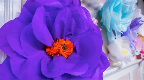 How To Make A Paper Mache Flower - how to make oversized paper mache flowers