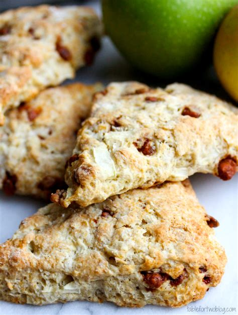 Apple Cinnamon Scones   Table for Two