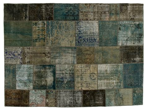 tappeti carpet tappeto patchwork vintage ricolorato patchwork grey by golran