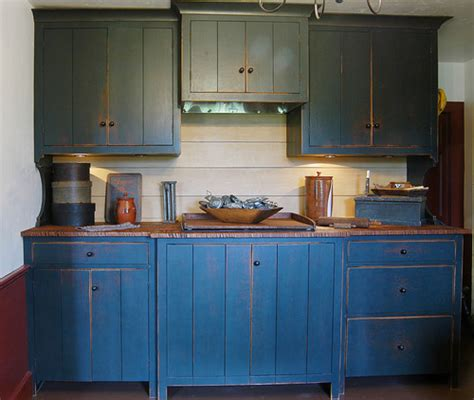 Blue Stained Kitchen Cabinets Blue Stained Kitchen Cabinets Quicua