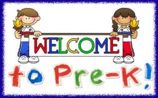 pre k welcome to pre k