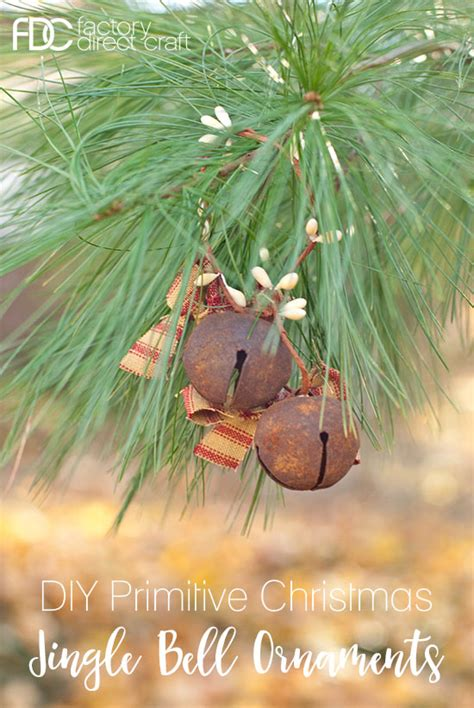 diy primitive christmas jingle bell ornaments factory
