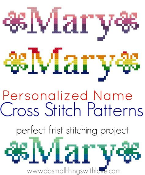 name pattern for cross stitch image gallery name cross stitch patterns