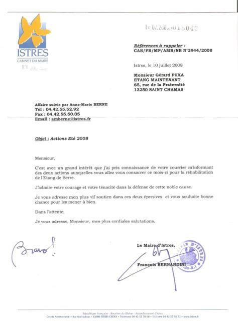 Lettre De Soutien Visa Etang Maintenant Infos Eole Est L 224