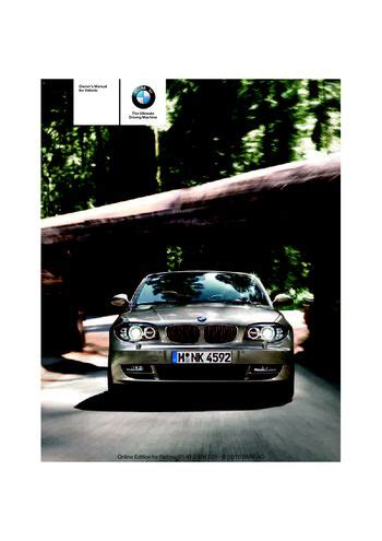 car owners manuals free downloads 2011 bmw 1 series electronic toll collection download 2011 bmw 128i convertible owner s manual pdf 256 pages