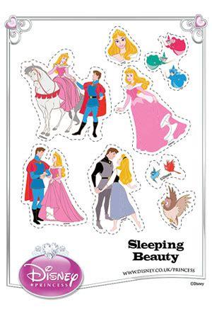 Print Cut Princess Academy sleeping disney princess uk