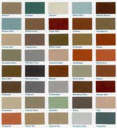 what color is cinder concrete paint color chart apps directories