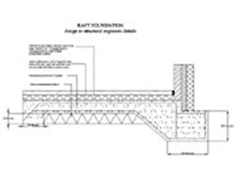 design application of raft foundations pdf free building regulations 4 plans construction detail drawings