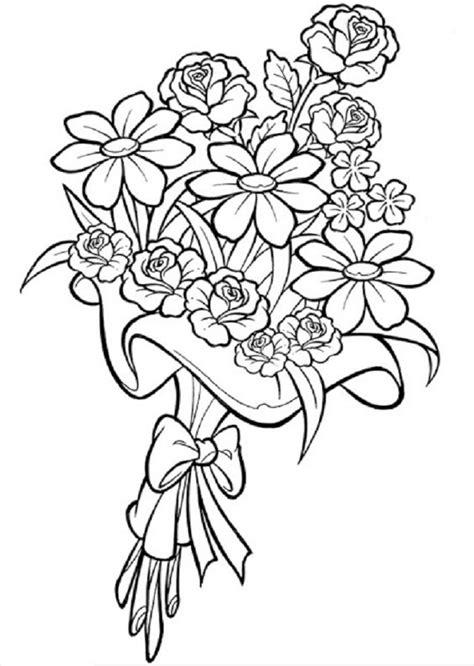 imagenes para pintar de flores flores para colorear dibujos para colorear