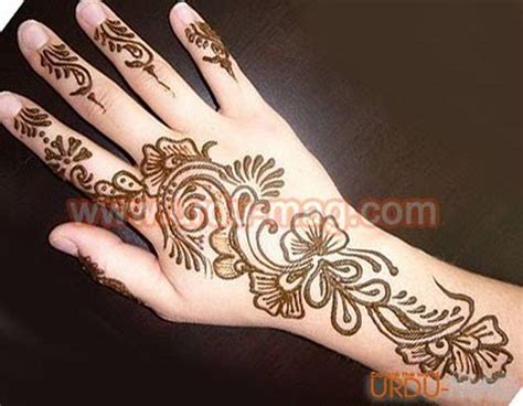 arabic mehndi designs images new latest arabic mehndi design awam pk