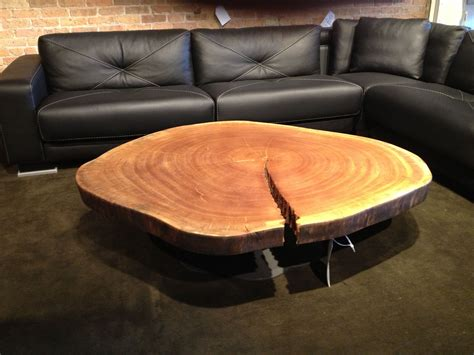 wood coffee table ski lodge decor