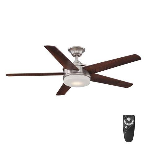 home decorators collection ceiling fan reviews home decorators collection davrick 52 in led indoor