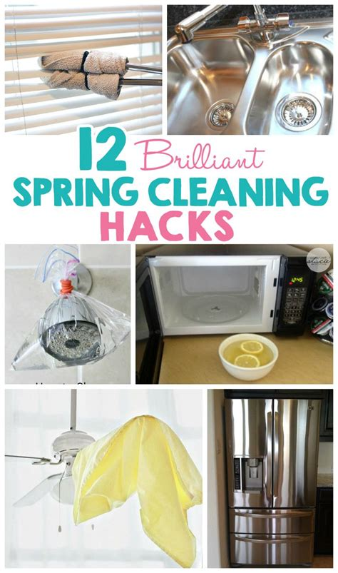 spring cleaning hacks 12 brilliant spring cleaning hacks spring household and