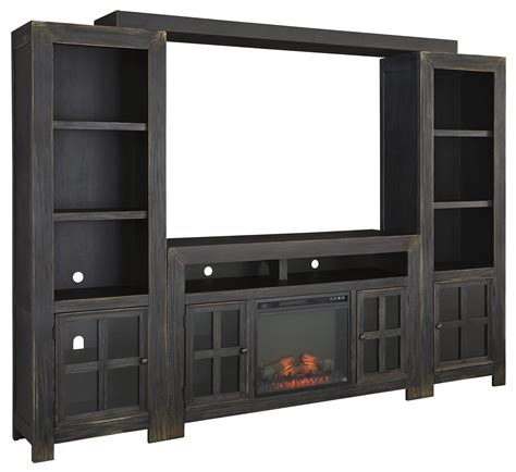 Entertainment Wall Units With Electric Fireplace by Entertainment Wall Unit W Large Tv Stand Fireplace