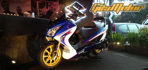 Kaos Motor Suzuki Gsx R Murah modifikasi suzuki burgman 200 ala pabrikan sporty dengan