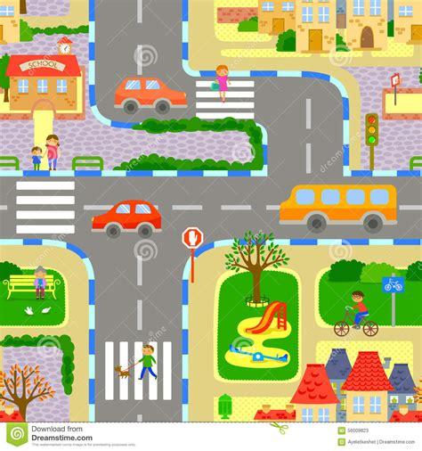 imagenes de paisajes urbanos animados paisaje urbano incons 250 til ilustraci 243 n del vector imagen