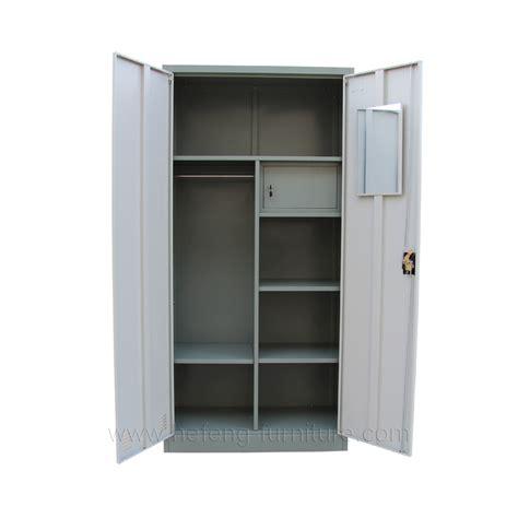Lemari Pakaian Stainless Steel lemari pakaian 2 pintu hefeng furniture