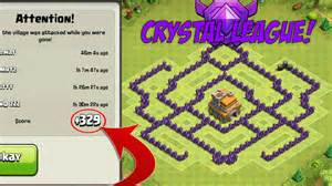 Coc best th7 trophy base with air sweeper clash of clans town
