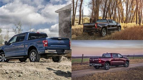 2019 Chevrolet Silverado vs Ford F 150 vs 2019 Ram 1500