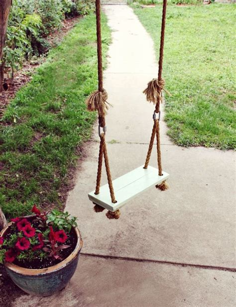 making a swing diy outdoor swings perfect for relaxing in the garden