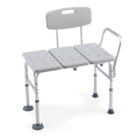 transfer benches careguard tool less transfer bench by invacare corporation