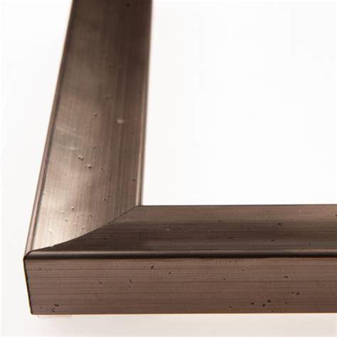 Mylar 0 30mm 100x100cm houten lijst ferrosa pewter 30 mm