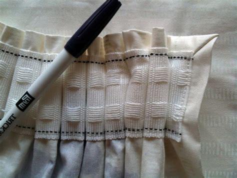 gardinen nahen faltenband gardinen n 228 hen kreative ideen f 252 r anf 228 nger