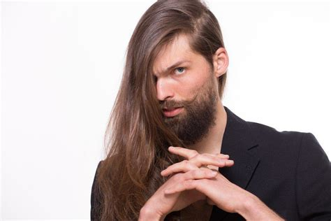 Rambut Palsu Pria Panjang 5 cara sehat merawat rambut untuk pria berambut panjang