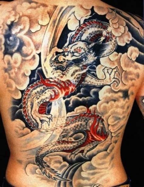 dragon tattoo back female women tattoo images designs