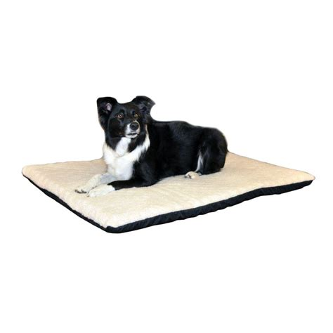 heated dog beds k h pet products ortho thermo large cream non slip heated