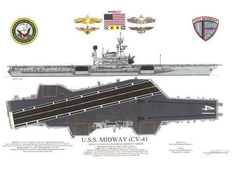 aircraft carrier floor plan souvenir 024b jpg 1024 215 768 uss midway cv41 pinterest