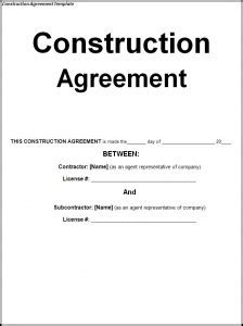 house building contract template house construction house construction contract sle